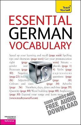 Essential German Vocabulary - Kahlen, Lisa, and McNab, Rosi (Editor)