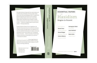 Essential Papers on Hasidism - Hundert, Gershon David