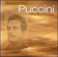 Essential Puccini - Alfredo Mariotti (vocals); Carlo Bergonzi (vocals); Christa Ludwig (vocals); Cornell MacNeil (vocals);...