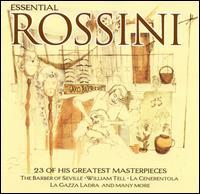 Essential Rossini - Cecilia Bartoli (mezzo-soprano); Dmitri Hvorostovsky (vocals); Francisco Araiza (vocals); Joan Sutherland (soprano);...