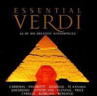 Essential Verdi - Angela Gheorghiu (vocals); Carlo Bergonzi (vocals); Dietrich Fischer-Dieskau (vocals); Dmitri Hvorostovsky (vocals); Frank Lopardo (vocals); Gegam Grigorian (vocals); Huguette Tourangeau (vocals); Joan Sutherland (soprano); Joan Sutherland (vocals)