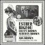 Esther Bigeou: Complete Recorded Works 1921-1923