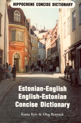 Estonian-English/English-Estonian Standard Dictionary -