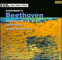 Everybody's Beethoven: Symphonies Nos. 3 & 6 - Rudolf Serkin (piano); Tanglewood Festival Chorus (choir, chorus)
