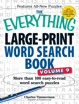 Everything Large-Print Word Search Book, Volume 9 - Timmerman, Charles