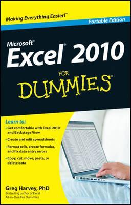 Excel 2010 for Dummies - Harvey, Greg