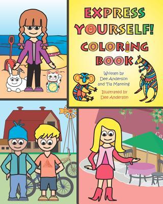 Express Yourself Coloring Book - Manning, Tia