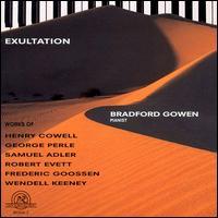 Exultation - Bradford Gowen (piano)