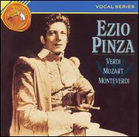 Ezio Pinza sings Verdi, Mozart, Monteverdi - Ezio Pinza (bass); Fausto Cleva (chimes); Fritz Kitzinger (piano); 20th Century-Fox Chorus (choir, chorus);...