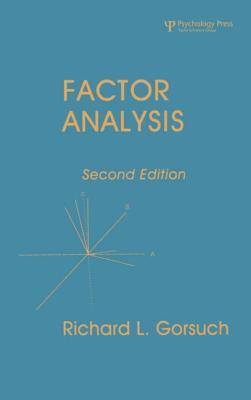 Factor Analysis 2nd Ed. - Gorsuch, Richard L