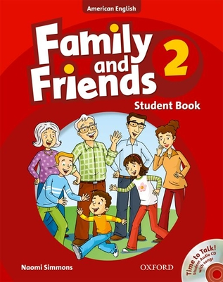 Family and Friends American Edition: 2: Student Book & Student CD Pack -