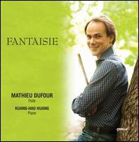 Fantaisie - Kuang-Hao Huang (piano); Mathieu Dufour (flute)