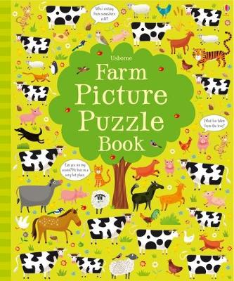 Farm Picture Puzzle Book - Robson, Kirsteen