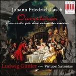 Fasch: Ouverture/Concertos for corni du caccia