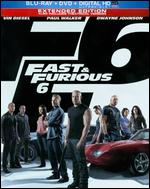 Fast & Furious 6 [2 Discs] [Includes Digital Copy] [UltraViolet] [Blu-ray/DVD] - Justin Lin