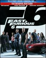 Fast & Furious 6 [SteelBook] [Includes Digital Copy] [UltraViolet] [Blu-ray/DVD] [2 Discs]