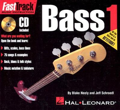 Fasttrack Mini Bass Method - Book 1 - Neely, Blake (Composer), and Schroedl, Jeff