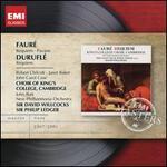 Faur�: Requiem; Pavane; Durufl�: Requiem