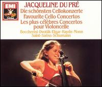 Favourite Cello Concertos - English Chamber Orchestra; Jacqueline du Pré (cello)