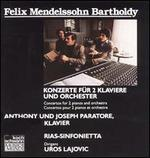 Felix Mendelssohn: Concertos For 2 Pianos And Orchestra