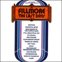 Fillmore: The Last Days - Various Artists