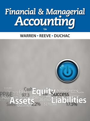Financial and Managerial Accounting - Warren, Carl S, Dr.