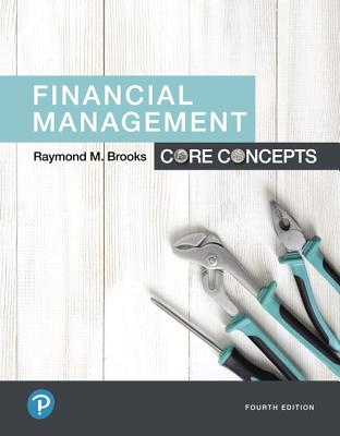 Financial management core concepts book by raymond brooks 5 financial management core concepts brooks raymond fandeluxe Images