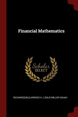 Financial Mathematics - Richardson, Clarence H