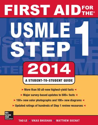 First Aid for the USMLE Step 1 - Le, Tao, M.D.