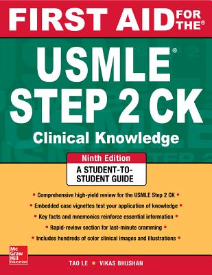 First Aid for the USMLE Step 2 CK - Le, Tao