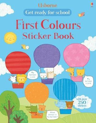 First Colours Sticker Book - Wood, Hannah, and Aizen, Marina (Illustrator)