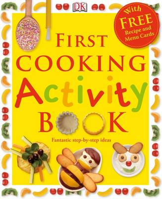 First Cooking Activity Book - Wilkes, Angela