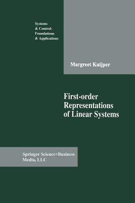 First-Order Representations of Linear Systems - Kuijper, Margreet