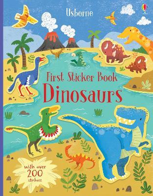 First Sticker Book Dinosaurs - Watson, Hannah