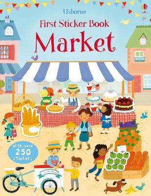 First Sticker Book Market - Bowman, Lucy