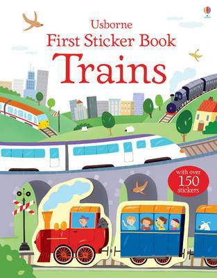 First Sticker Book Trains - Taplin, Sam