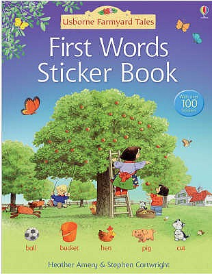 First Words Sticker Book - Amery, Heather
