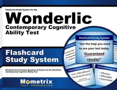 Flashcard Study System for the Wonderlic Contemporary Cognitive Ability Test: Wonderlic Exam Practice Questions & Review for the Wonderlic Contemporary Cognitive Ability Test (Cards) - Wonderlic Exam Secrets Test Prep Team