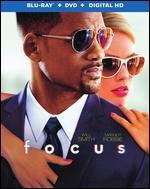 Focus [2 Discs] [Includes Digital Copy] [UltraViolet] [Blu-ray/DVD] - Glenn Ficarra; John Requa