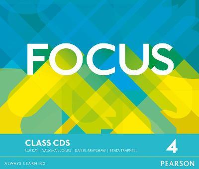 Focus Bre 4 Class CDs - Jones, Vaughan, and Kay, Sue, and Brayshaw, Daniel