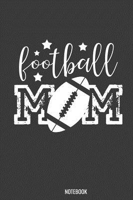 Football Mom Notebook: 100 handwriting paper Pages 6 x 9 for school boys, girls, kids and pupils princess and prince - Princess Notebook, Kaiasworld Journal