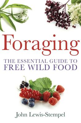 Foraging: A practical guide to finding and preparing free wild food - Lewis-Stempel, John