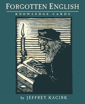 Forgotten English Knowledge Cards - Kacirk, Jeffrey