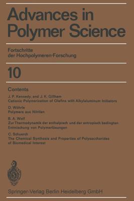 Fortschritte der Hochpolymeren-Forschung - Cantow, H. J., and Dall'Asta, G., and Ferry, J. D.