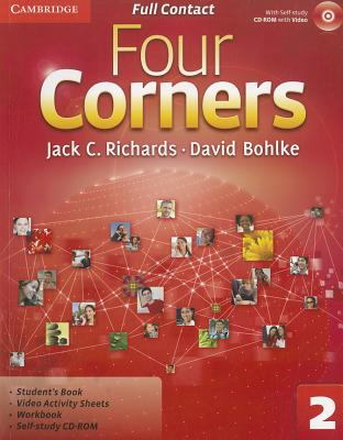 Four Corners Level 2 Full Contact with Self-study CD-ROM - Richards, Jack C., and Bohlke, David