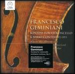 Francesco Geminiani: Sonatas for Violoncello & Basso Continuo, Op. 5