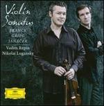 Franck, Grieg, Jan�cek: Violin Sonatas