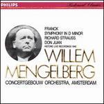 Franck: Symphony in D minor; Strauss: Don Juan