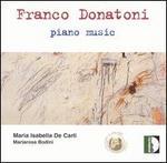 Franco Donatoni: Piano Music
