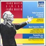 Frank Martin dirige Frank Martin